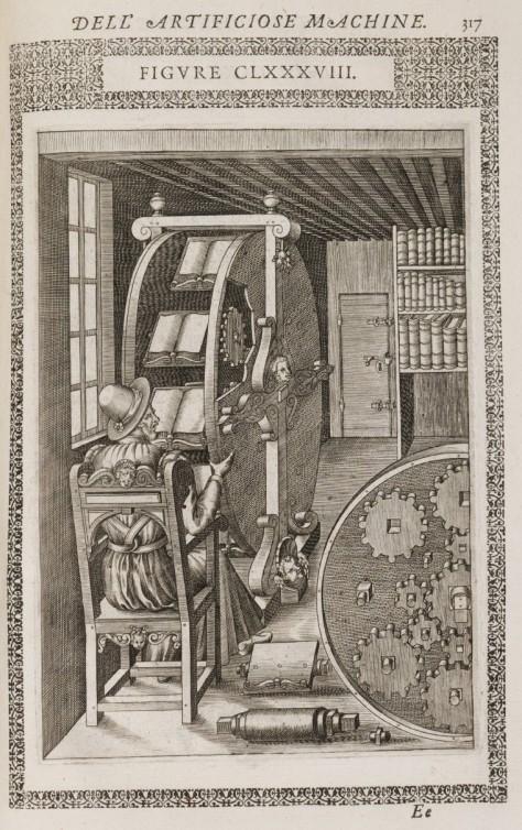 Le diverse et artificiose machine del capitano Agostino Ramelli... Ramelli, Agostino, 1531-ca. 1600. Arquivo digital da Beinecke Library, Elizabethan Club of Yale University, 1032311