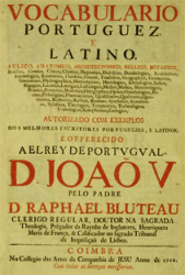 Bluteau, 1712