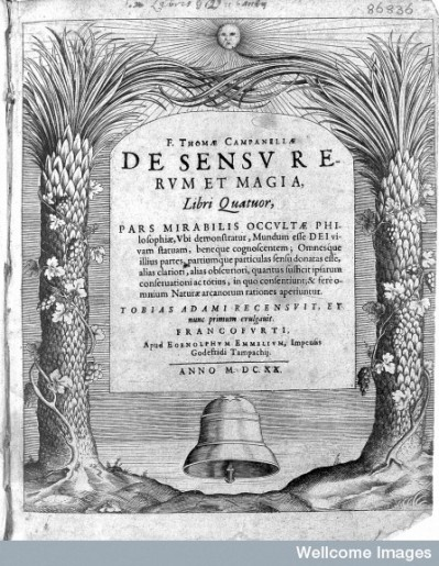 Campanella, De Sensu Rerum et Magia Libri Quatuor Credit: Wellcome Library, London. Wellcome Images