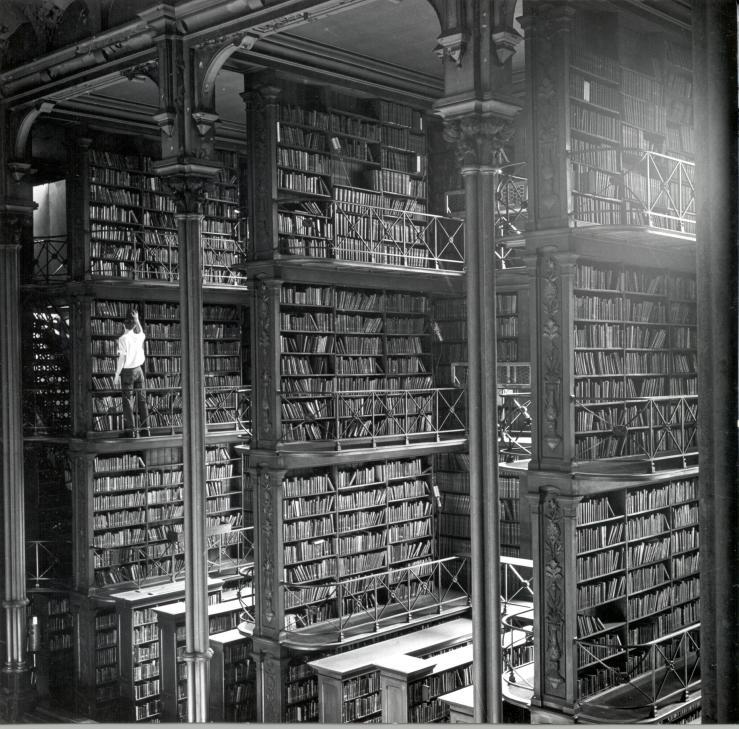 Cincinnati Public Library, 19th century. http://www.cincinnatimemory.org/