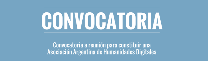 Associações em Humanidades Digitais: alguns exemplos