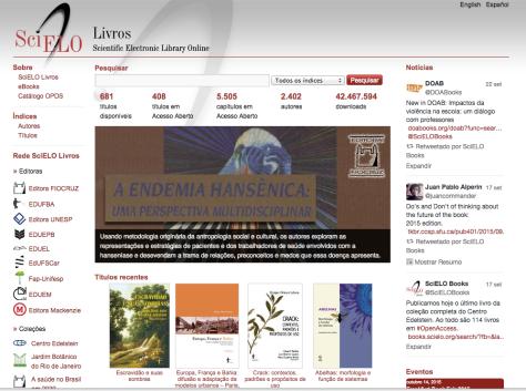 SciELO, Scientific Eletronic Library Online, www.scielo.br